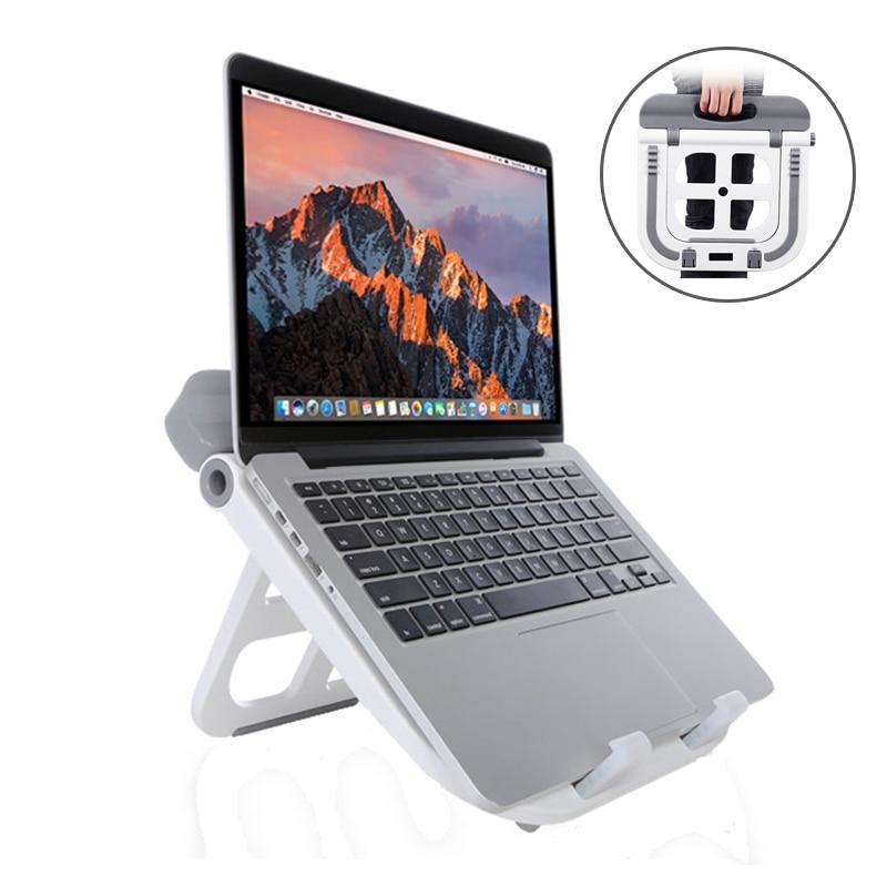 Portable Laptop Stand Ergonomics Computer Holder For Macbook Lenovo ASUS Tablet Adjustable Lapdesk Notebook Cooling Bracket