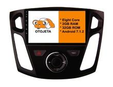 Восемь основных Android 7.1.2 2 ГБ Оперативная память otojeta автомобильный DVD для Ford Focus 2012 + мультимедиа Сенсорный экран стерео радио GPS 1080 P WI-FI 3G/4 г