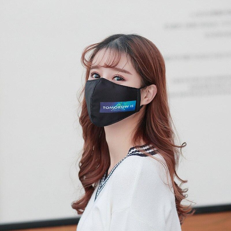 Liefern 5 Teile/paket Herbst Und Winter Gedruckt Anti-fog-pm2.5 Masken Kalt Warm Persönlichkeit Koreanische Version Der Erwachsenen Maske Mode Bekleidung Zubehör Masken