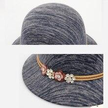 Winter  Wool Elegant Women's Trilby