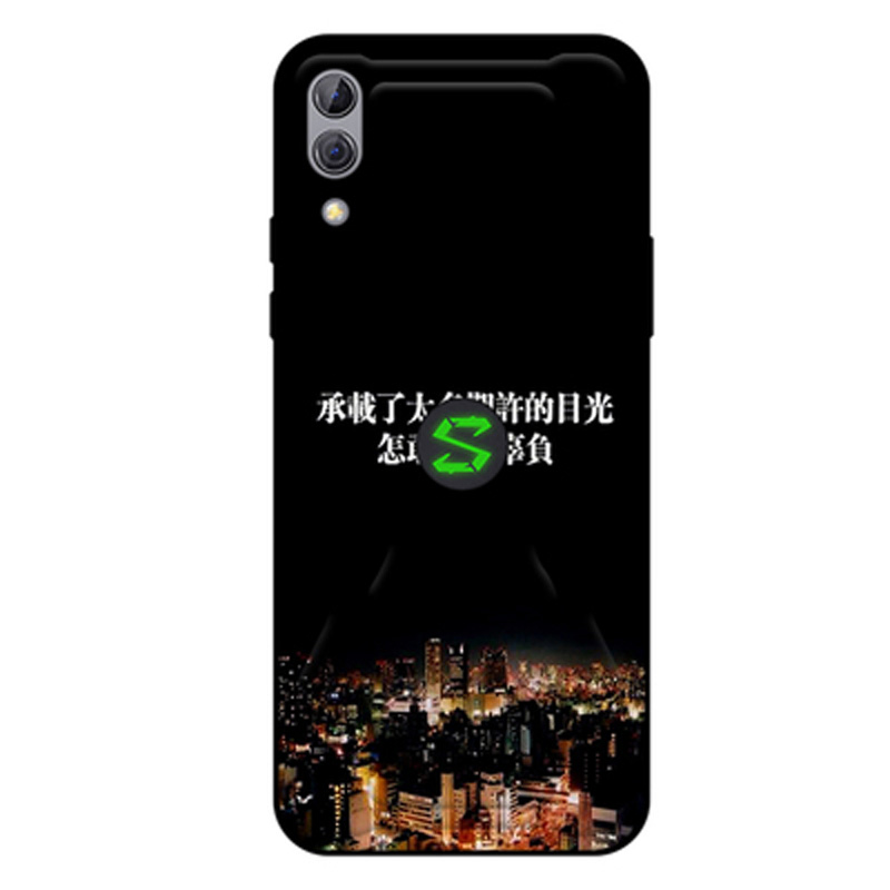 Phone Cases For xiaomi Black Shark 2 cartoon painted clear coque soft Silicone Cover case For BlackShark 2 SKW-A0 shell coque
