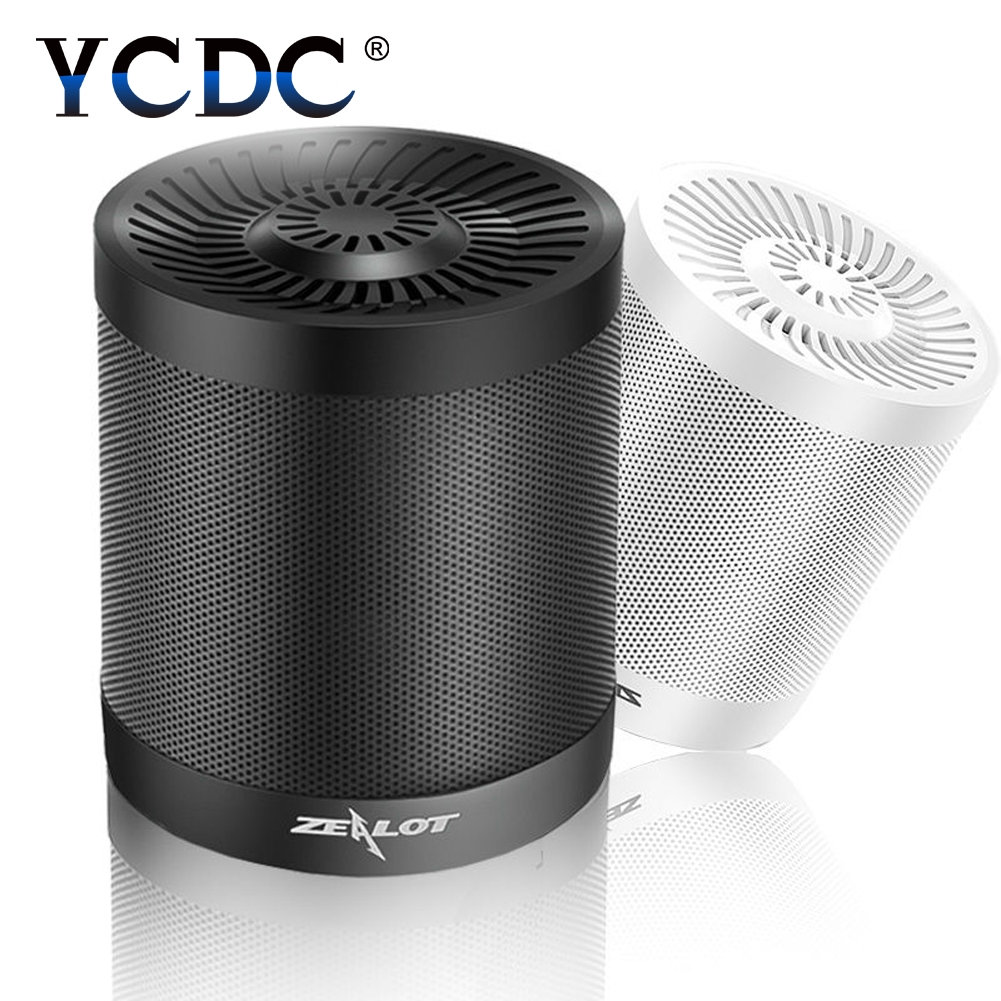 YCDC Wireless Speakers ZEALOT S5 2000mAh Portable Speaker Support TF Card AUX Flash Disk Outdoor Wireless Bluetooth 4.0 Speaker