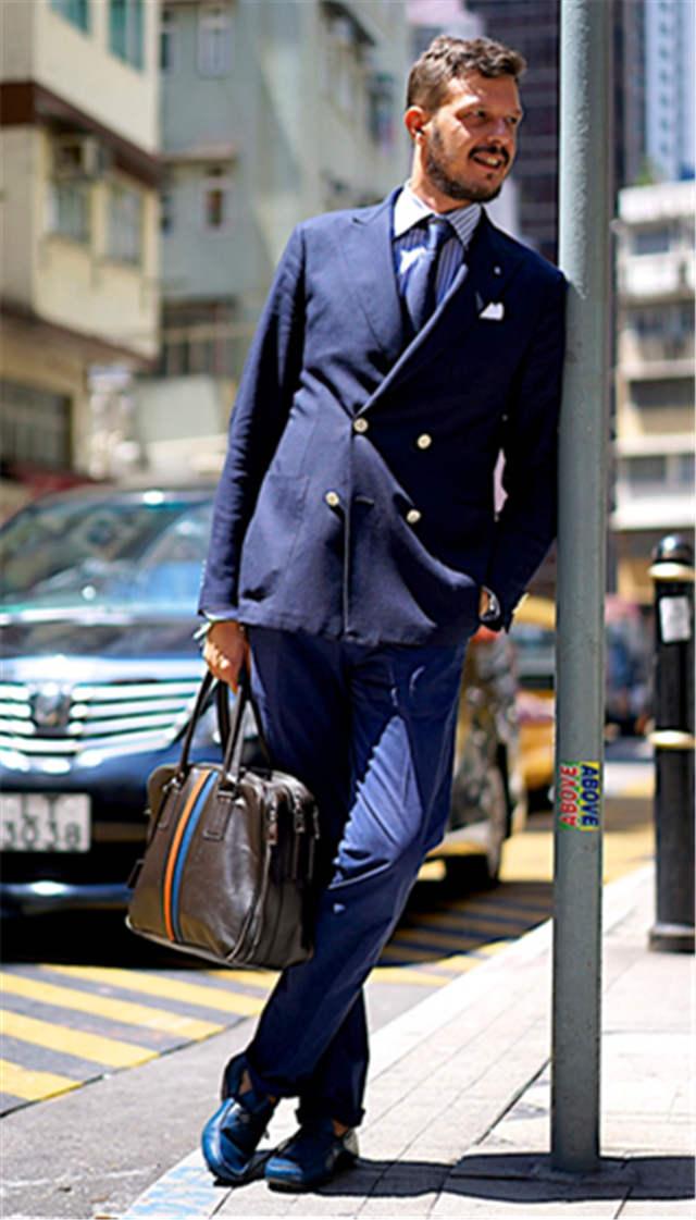 2017 New Fashion Double Breated Men Suit Elegant Blue Best Men Gromsmen Wedding Tuxedos Gentlemen Suits (Jacket+Pants+Tie)