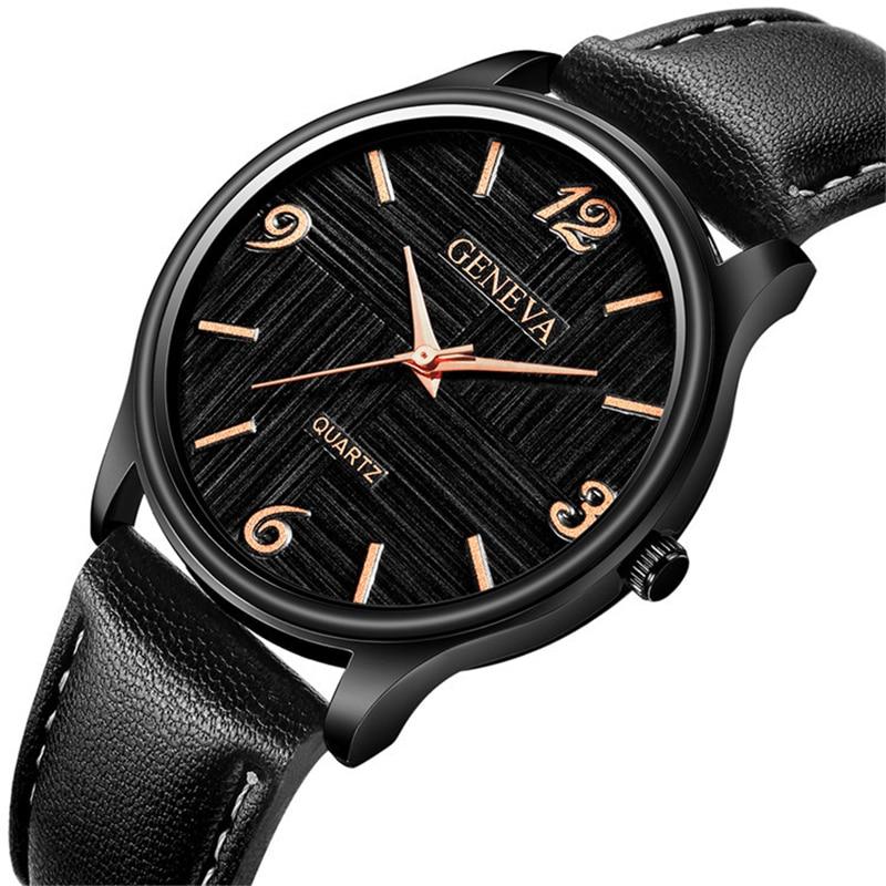 Mens Watches Top Brand Luxury Quartz Watch Men Casual Leather Military Sport Wrist Watch Relogio Masculino Erkek Kol Saati