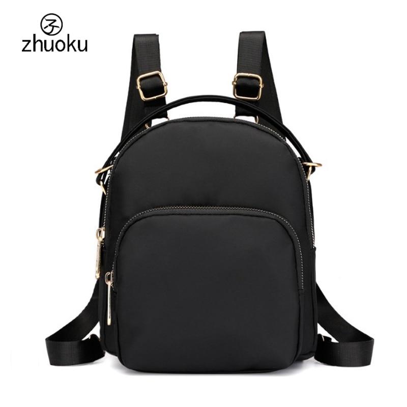 Multifunction women handbag Waterproof nylon Female messenger small bag,purple, black,crossbody bags for women pouch Z455