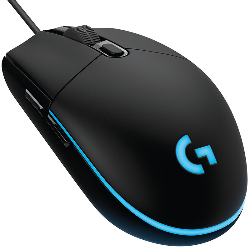 Image 4 - Logitech G102 Wired Gaming Mouse IC PRODIGY 16.8M Color RGB  Backlit souris gamer 8000DPI mause Optical Computer Gaming MouseMice