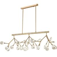 Glass pendant lamp nordic creative Art Designer Chandelier Lights Tree Leaf 120CM LED Bulbs Light Hanging Lamp Home Lighting