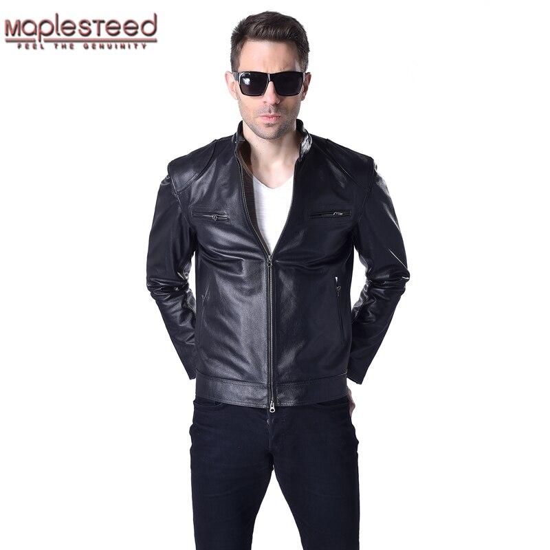 factory genuine leather jacket men leather coat 100 cow skin black bomber motorcycle biker men. Black Bedroom Furniture Sets. Home Design Ideas