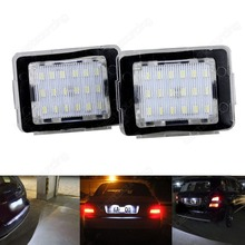 Mercedes Canbus LED Number Plate Light X166 GL63 W166 ML63 C292 R172 SLK55 MercedesBenz(CA234)