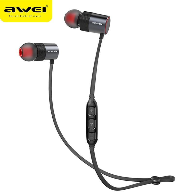 AWEI AK2 Bluetooth Kopfhörer Drahtlose Kopfhörer Cordless Headset Stereo Blutooth Kopfhörer Fone de ouvido Ohrhörer Für Telefon