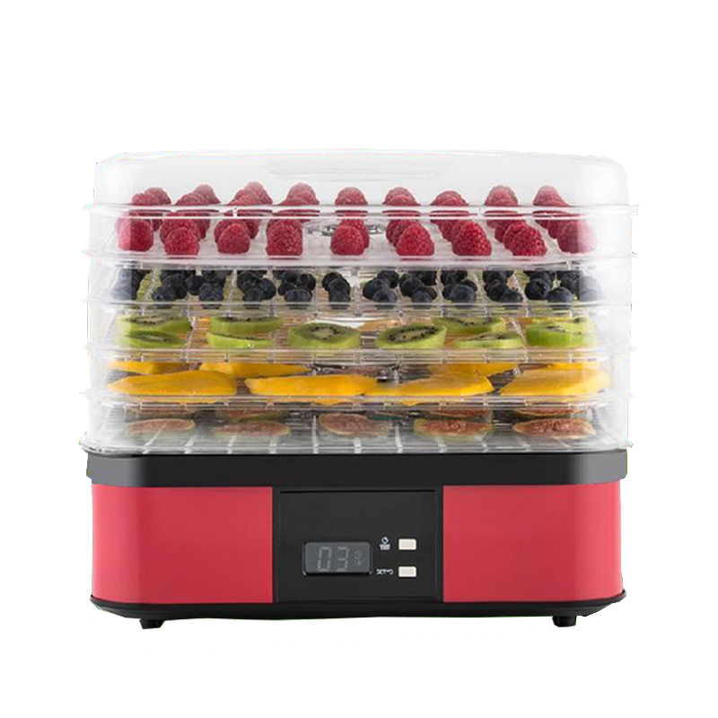 5-layer foodstuff dryer household fruit and vegetable dehydrator food drying machine 220V 250W AG1001 food dryer fruit dryer vegetable and herbs dehydrator drying kitchen appliance machine xmas christmas gift present