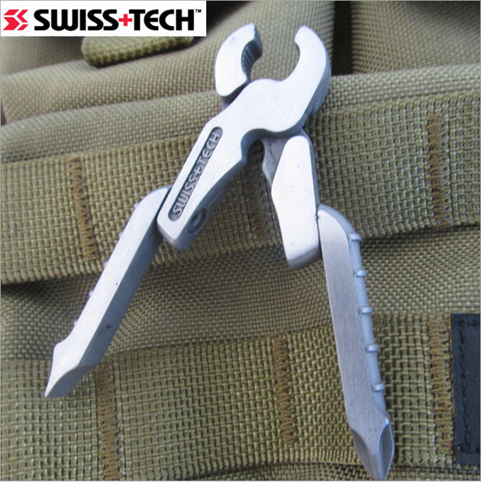 EDC Pliers Quality SWISS TECH Screwdriver Mini Multi Tool - 8 In 1 - Micro Multitool Keychain Pocket Tools Micro-Pro XL900