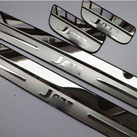 Car Styling For Honda JAZZ 2008 2012 2014 Stainless Steel Door Sill Scuff Plate Pedal Auto