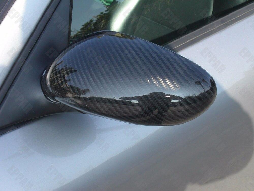 For Porsche 996 Carbon Fiber Mirror Covers 1997-2004