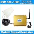 1 компл. Dual Band Repeater 900 1800 Сотовый Телефон Booster Усилитель ЖК-Дисплей GSM И DCS Dual Усилитель Сигнала с ЛДПА кнут антенна