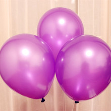 100pcs/lot 10inch 1.5g Purple latex balloon kids birthday decoration anniversai balloons wedding 18 party babyshower
