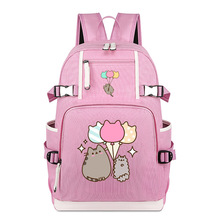 Backpack with Pusheen Life Prints
