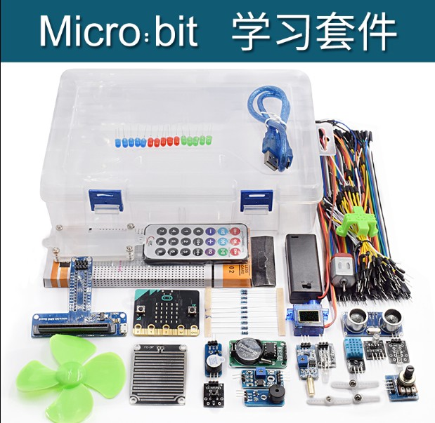 Sensor Starter Kit With Micro:Bit Board for BBC Micro:Bit DIY Projects
