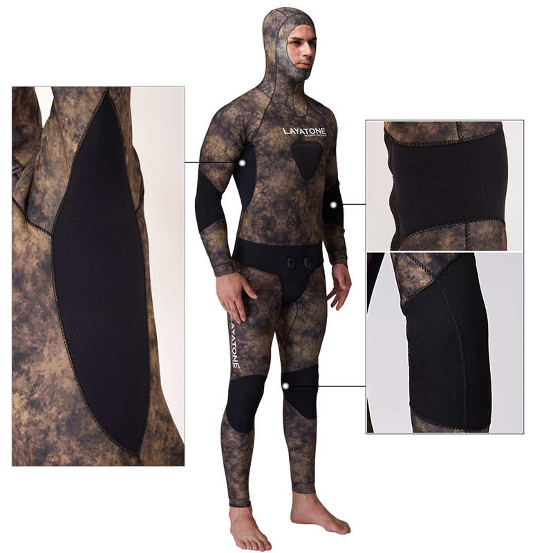 spearfishing underwater hunting opencell snooth skin wetsuit yamamoto cressi08