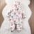 Crianças recém-nascidas Do Bebê Da Menina do Menino de Algodão Acolchoados Com Capuz Macacão Playsuit Outfits