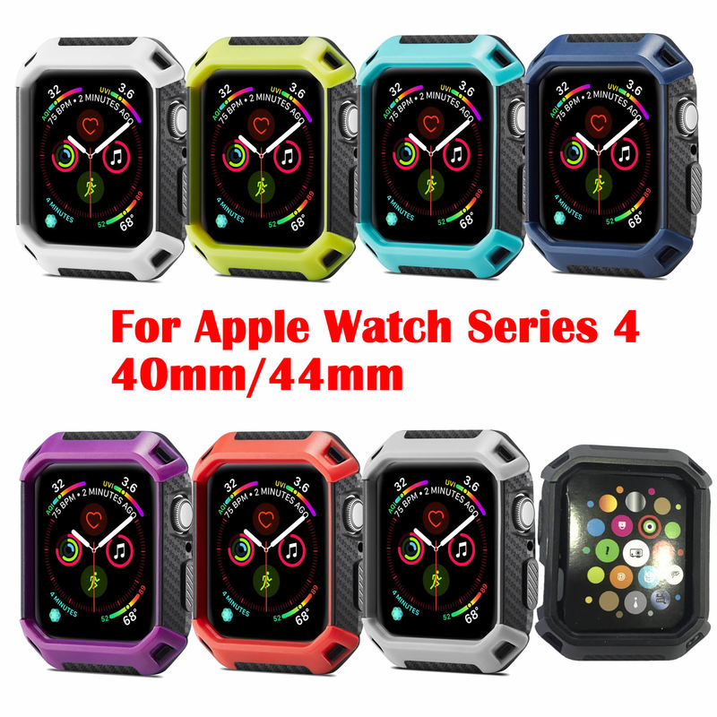 Watch Protective Cases Cover for Apple Watch 44mm 40mm for Iwatch Series 4 Case Alloy Protect Shell Watch Accessories
