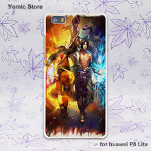 Naruto Pokemons White Case for Huawei