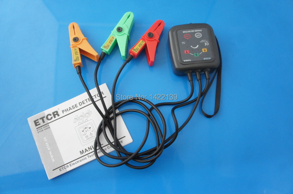 ETCR1000A Non Contact 3 Phase Rotation Tester Indicator