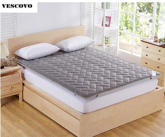 Bed Foam Massage Mattress Double Single Dormitory Bamboo Fiber Topper