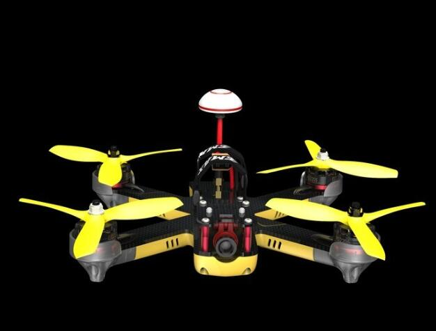 EMAX Nighthawk Pro 200 PNP FPV model aircraft through the competitive game one machine ...