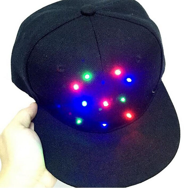 cb3c3899758 Online Shop LED Luminous Fluorescent Baseball Caps Glow In The Dark Cap Men  Women Fashing Hip-hop Hats Party Gift Bar Decoration ZA3326