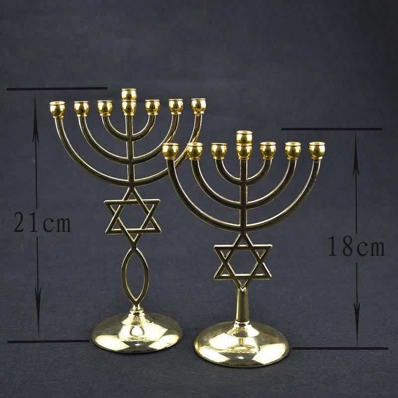 エルサレム本枝の燭台とダビデの星 Messianic Menora の真鍮    グループ上の ジュエリー & アクセサリー からの ジュエリー用包装