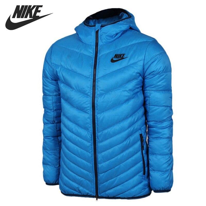 Original NIKE Men's Down Jacket Hiking Down Sportswear original nike women s down coat vest warm down jacket sportswear