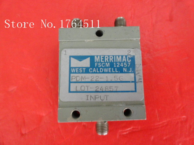 [BELLA] MERRIMAC PDM-22-1.5G 1.0-2.0GHz A Two Supply Power Divider SMA