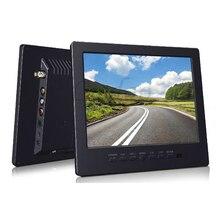 New eight inch Skilled Display Moveable VGA Monitor With BNC / VGA / AV enter Earphone Free Cargo – Black