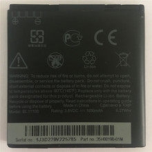 NEW BL11100 Battery For HTC T328T/T328W/T328D/Desire VC/VT/V/T329T/T329D/T327t/T327w/T327d + Tracking Number chanti international silver rare blue fire rainbow moonstone large stud earrings 2 2 cm