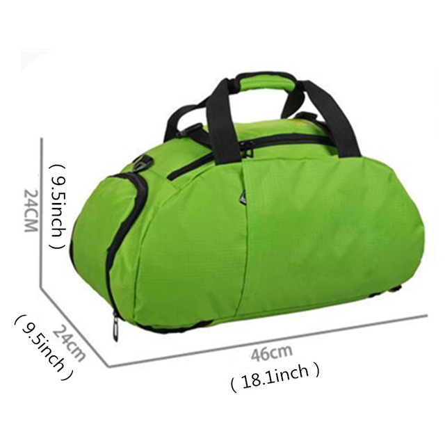 Multi-use Portable Sports Gym Backpack Shoulder Bag Separated Shoes Storage Travel Backpack Men And Women Outdoor Fitness Bag