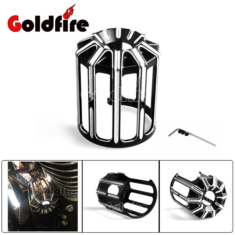 New Motorcycle Oil Grid Billet Aluminum Oil Filter Cover For Harley Buell Softail Sportster XL883 Touring FLHX FLHR FLHXSE FXDF billet rear hub carriers for losi 5ive t