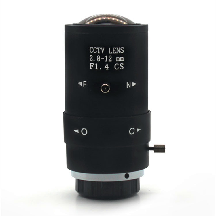 AIBOULLY CT6 Surveillance Lens 2.8 12mm Zoom Lens Megapixel CS Interface Large Field of View Wide angle Lens Machine Vision