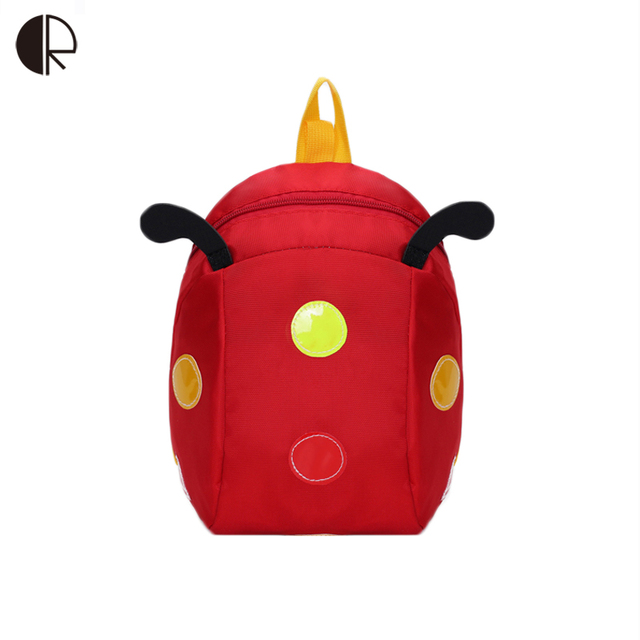 4dccb04df0 1-4T Kids cute Backpack Animal Dots Bag for Toddler ladybug Bag  Kindergarten Children Anti-lost Bags Cartoon Backpacks Boy Girl