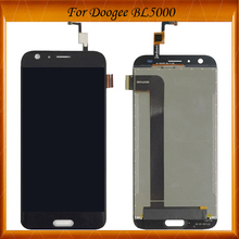 100% Working Well LCD Display And Touch Screen Assembly  For doogee BL5000 in stock цена