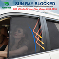 4 шт./компл.  или 2 шт./компл.  магнитная Автомобильная шторка с боковым окном  сетчатая шторка для Mitsubishi Space Star Mirage 2012-2018  автомобильная шторка