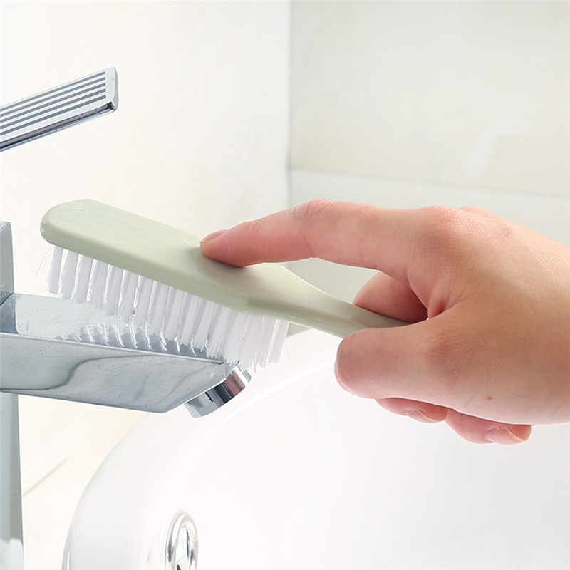1 PC Multiuso Escova de Lavar Roupa de Plástico Produtos Domésticos Acessórios sapatos brilhar kit Tools Escova da Sapata de Limpeza Doméstica