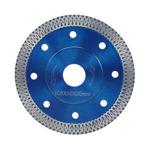 Image 5 - Lame de scie à diamant Style vague, 105/115/125mm, pour le carrelage, la porcelaine et la céramique, disque agressif de coupe à sec, le marbre, la pierre, le granit
