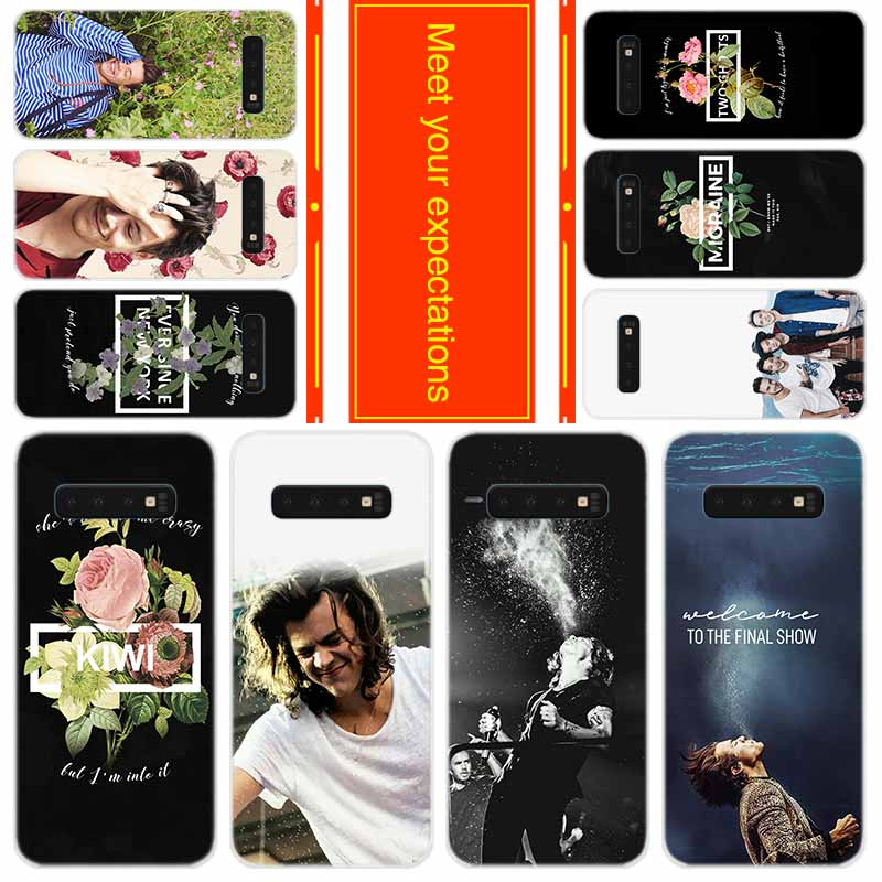 <font><b>Phone</b></font> for <font><b>Samsung</b></font> Galaxy S10 E S9 S8 Plus S7 s6 Edge S20 Uitra Note 10 Cover <font><b>Case</b></font> Singer <font><b>Harry</b></font> <font><b>Styles</b></font> One Direction image