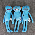Hot Sale 25cm Rick and Morty 3 Styles Meeseeks Stuffed Plush Toys Dolls Christmas Gift For Kids