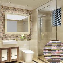 PVC Mosaik Fliesen Abnehmbaren Aufkleber Wand Kunst Aufkleber Küche  Esszimmer Home Decor