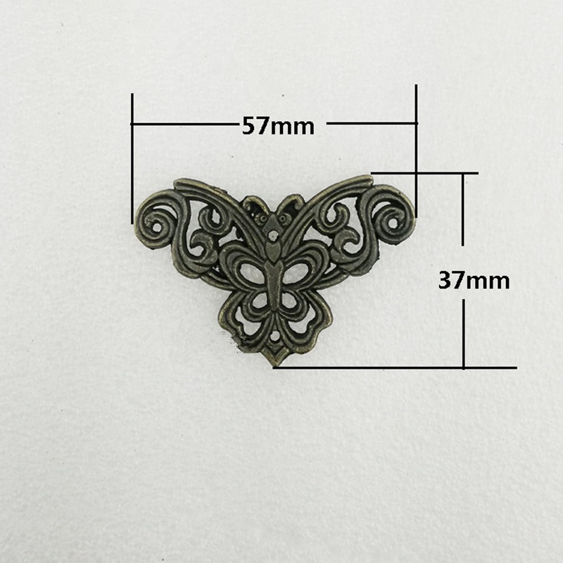 цены на Filigree Alloy Flower Wraps Cabochon,Ancient Corner,Flatback Butterfly Embellishments Scrapbooking,Bronze Tone,57*37mm,40Pcs в интернет-магазинах