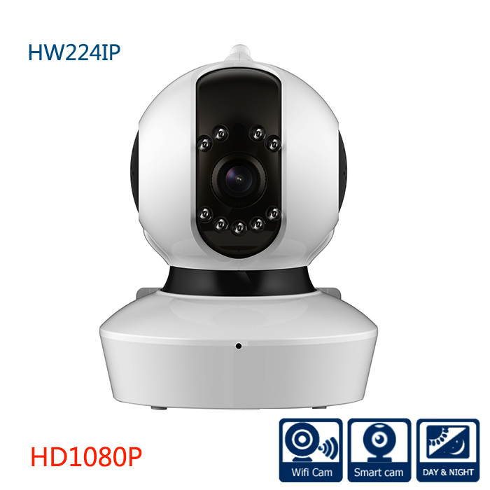 Wireless Indoor 1080P FULL  HD PT IP  Camera System Support  P2P WIFI TF Card ONVIF  Function