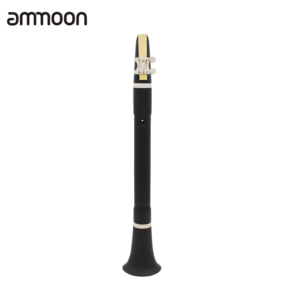 mini bb b flat clarinet clarionet with cleaning cloth reeds carrying bag woodwind instrument for. Black Bedroom Furniture Sets. Home Design Ideas