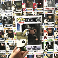 Limited Edition Funko pop Official Marvel: Loki #02 Bobble Head Vinyl Action Figure Collectible Model Toy with Unopened Box